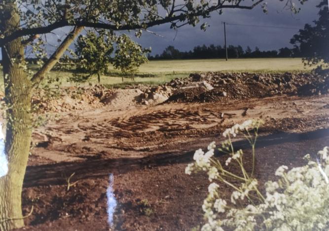 Bau der Kläranlage 1990 - II