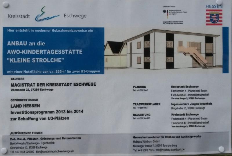 Bauherrenschild