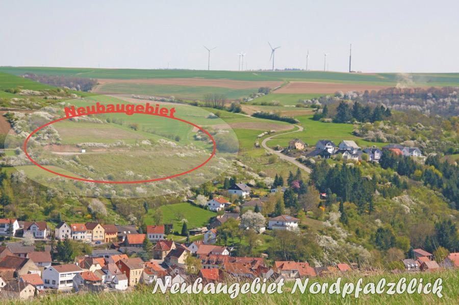 Neubaugebiet Nordpfalzblick