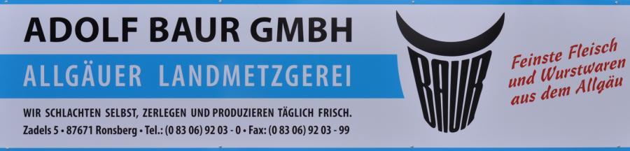 Metzgerei Adolf Baur