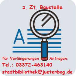 Baustelle Katalog-Lesekonto
