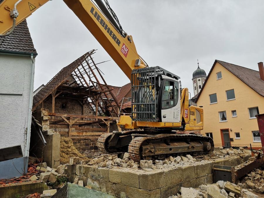 Baustelle in der Pfarrstraße