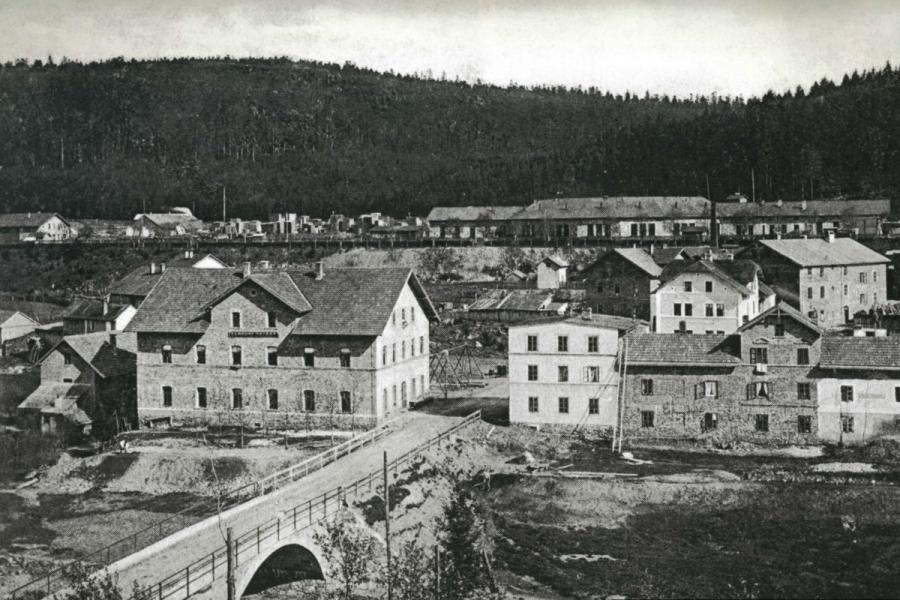 Bayerisch Eisenstein um 1905