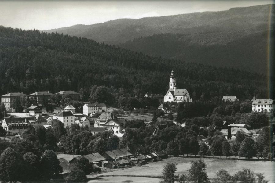 Bayerisch Eisenstein im Jahr 1937