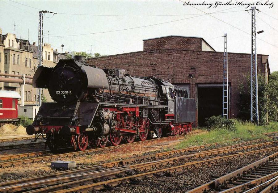 Bayrisches Eisenbahnmuseum Nördingen 03 2295-8