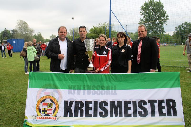 Ehrung Kreismeister Frauen - SV Großgräfendorf