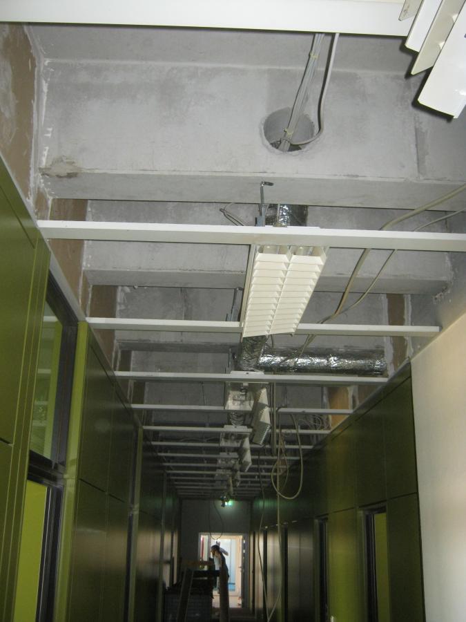Deckenaustausch Bürogebäude inkl. Brandschutz