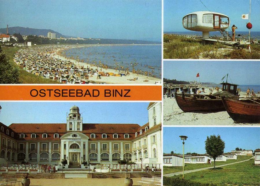 Ostseebad Binz 1988