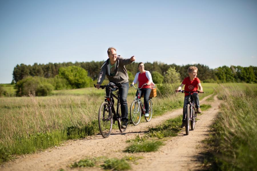 Naturpark Barnim_Radfahren_Foto: Heise