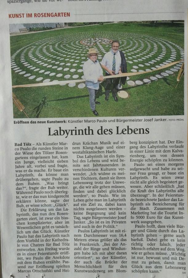Kunst im Rosengarten Bad Toelz