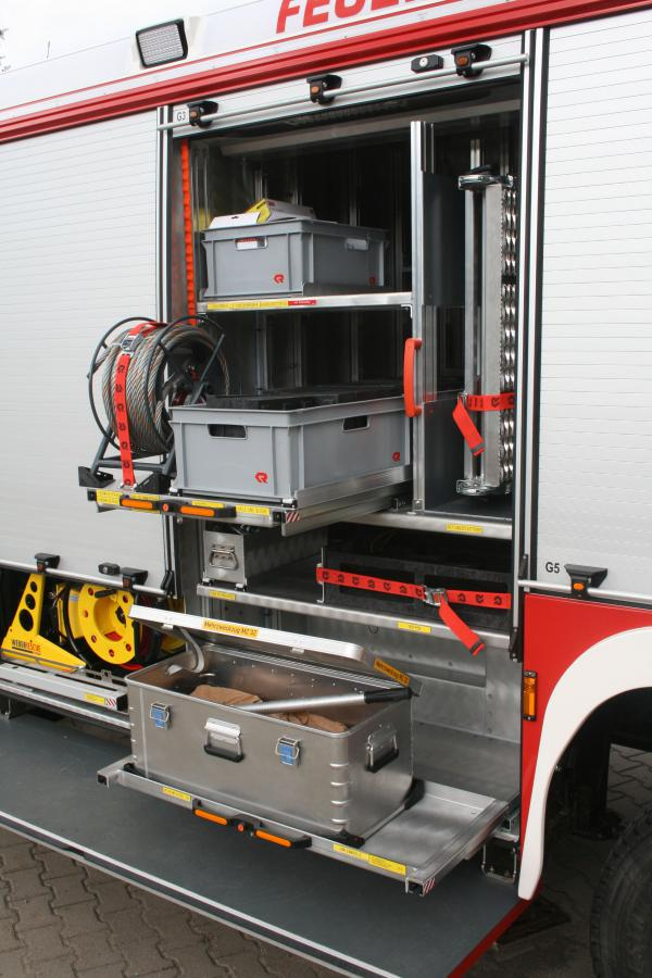 Rüstwagen Geräteraum 3