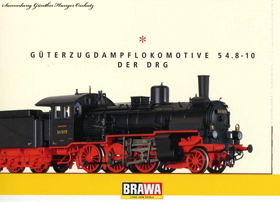 Güterzugdampflokomotive 54.8-10 der DRG