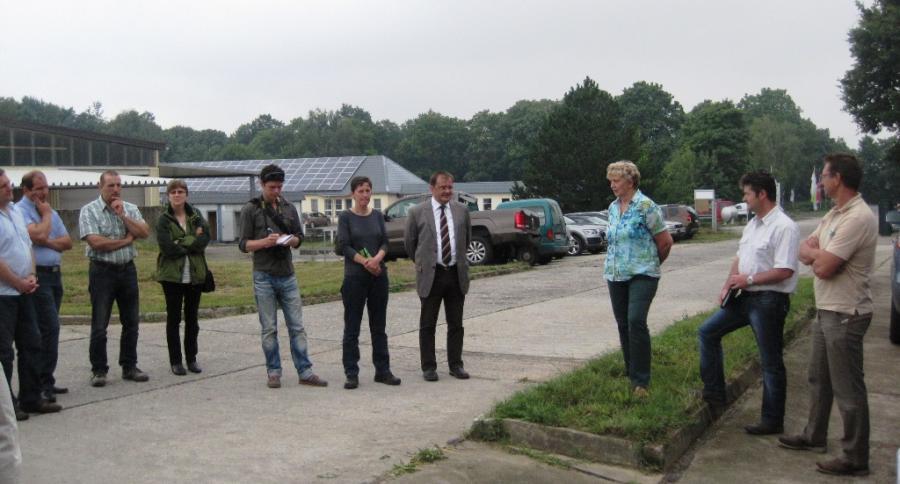 Vorstellung bei der Agrar GmbH Langengrassau