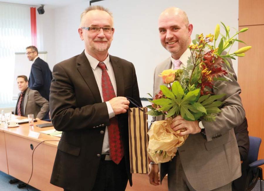 Wahl zum Beisitzer: Dr. Peter Noack