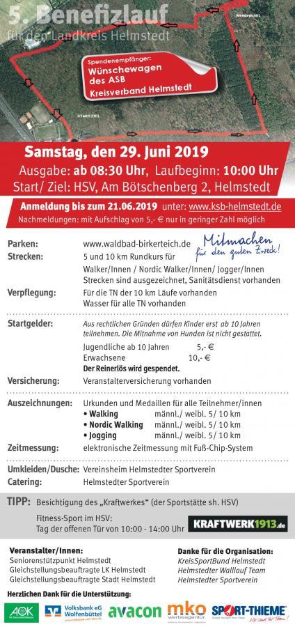 5. Benefizlauf im Landkreis Helmstedt 2