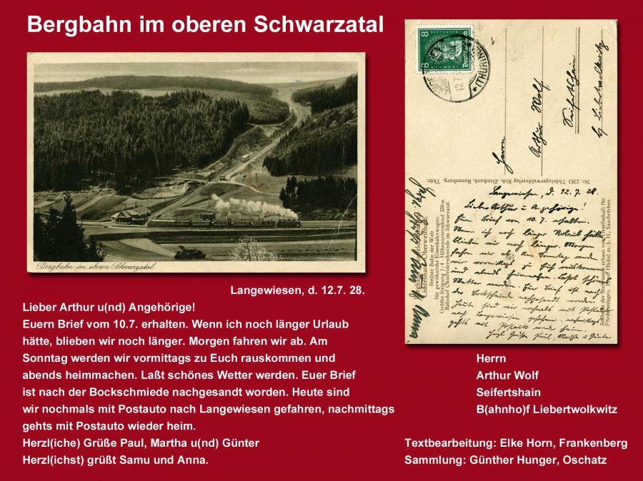 Bergbahn Schwarzatal
