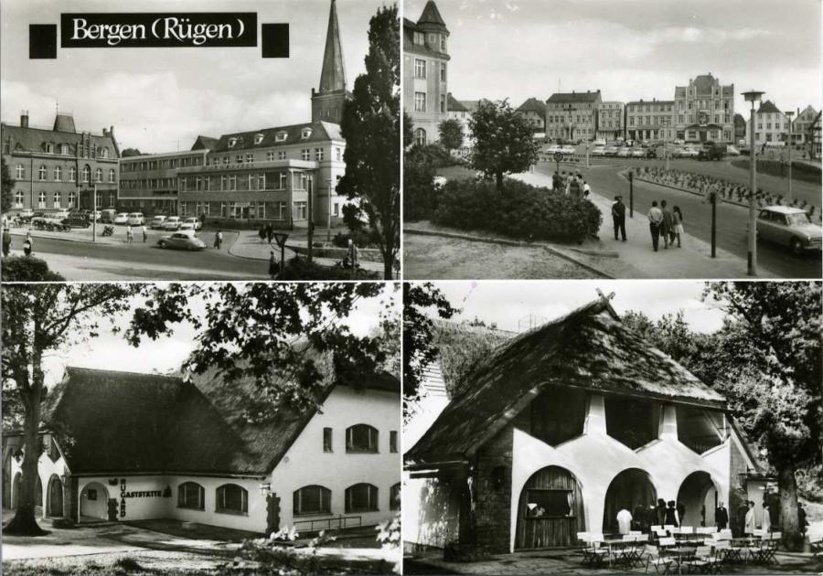 Bergen ( Rügen ) 1074