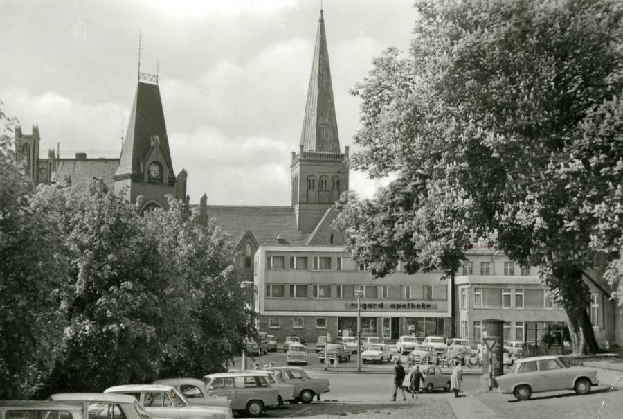 Bergen (Rügen) Markzplatz 1983