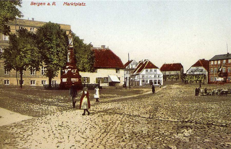 Bergen a R Marktplatz