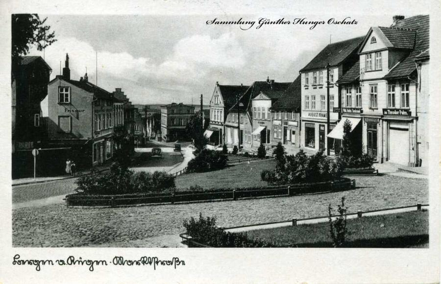 Bergen a Rügen Marktstraße