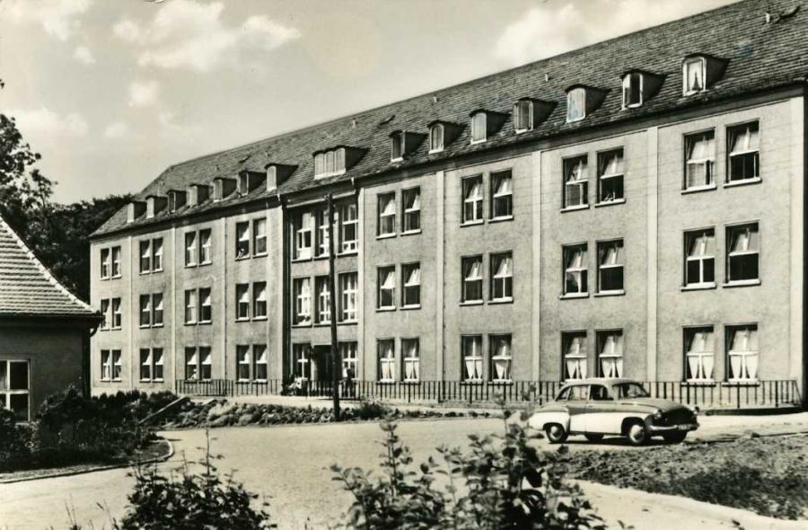 Bergen Rügen Kreiskrankenhaus 1967