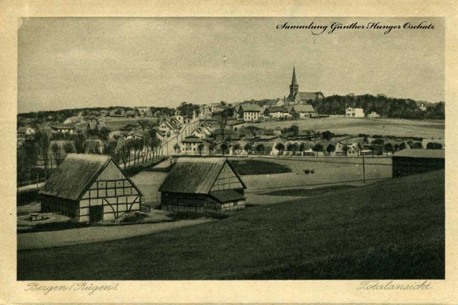Bergen Rügen Totalansicht
