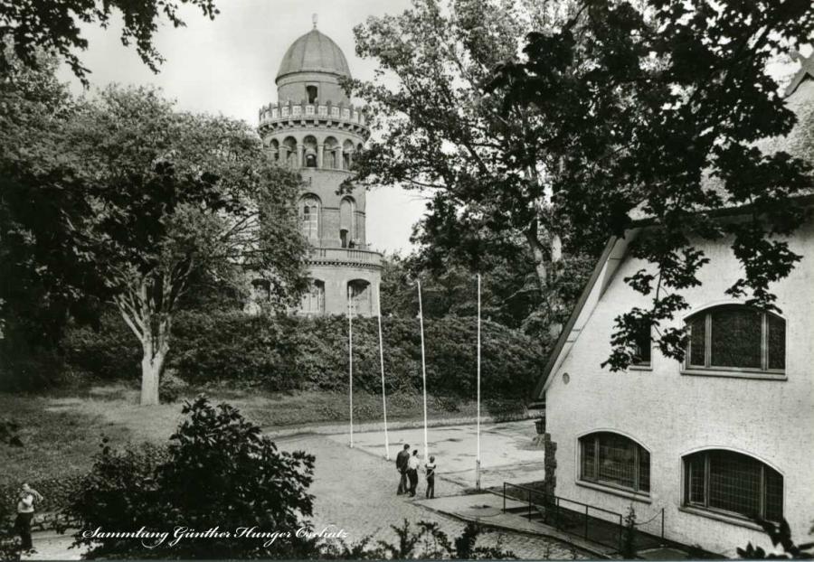 Bergen Rugard-Gaststätte und Ernst-Moritz-Arndt-Turm