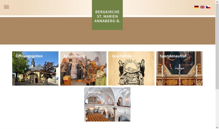 A-Bergkirche Tourismusseite