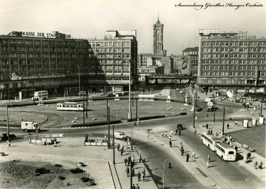 Berlin-Haupstadt der DDR Alexanderplatz