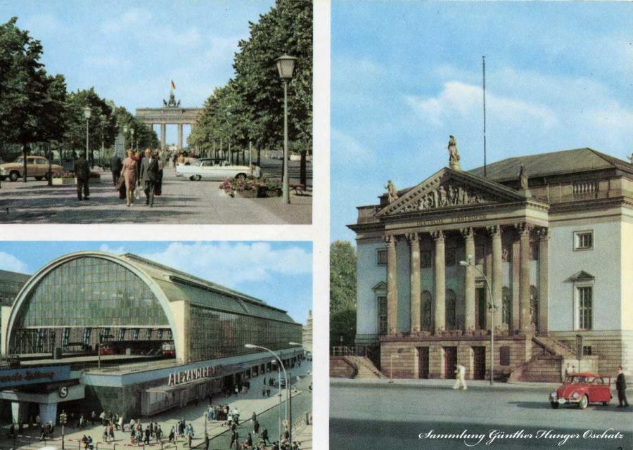 Berlin-Hauptstadt der DDR Bahnhof Alexanderplatz