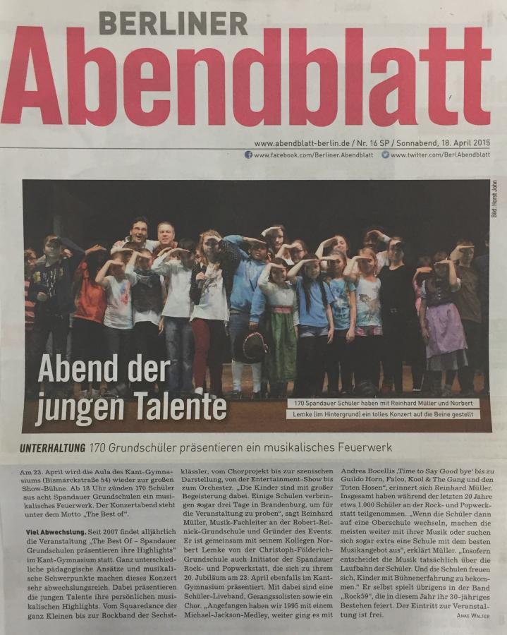 Berliner Abendblatt