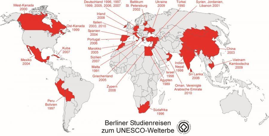 Berliner Studienreisen zum UNESCO-Welterbe