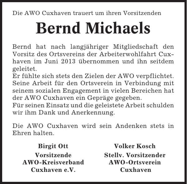 Bernd Michaels