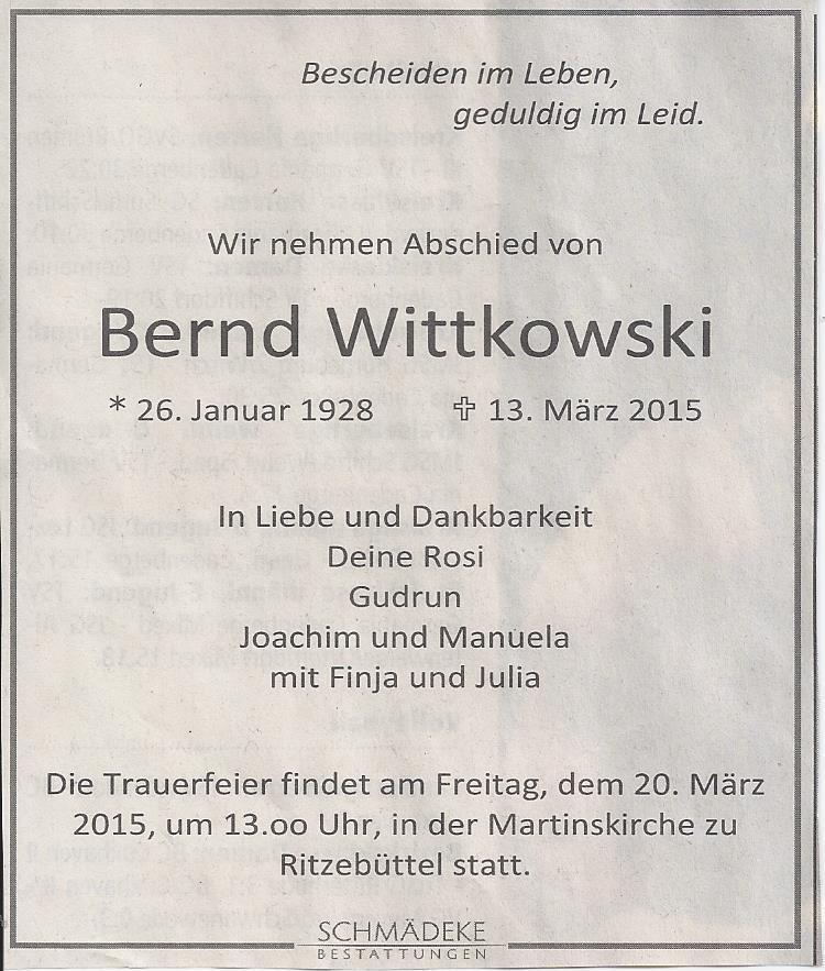 Bernd Wittkowski