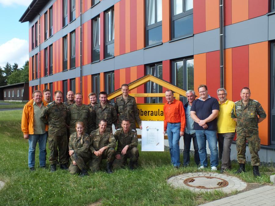 Besuch der Mandatsträger aus Oberaula