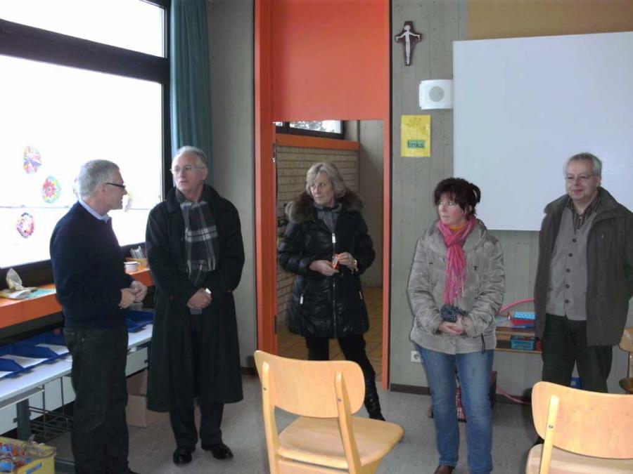 Besuch der Grundschule in Lengfurt