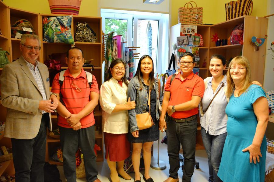 Besuch der philippinischen Delegation