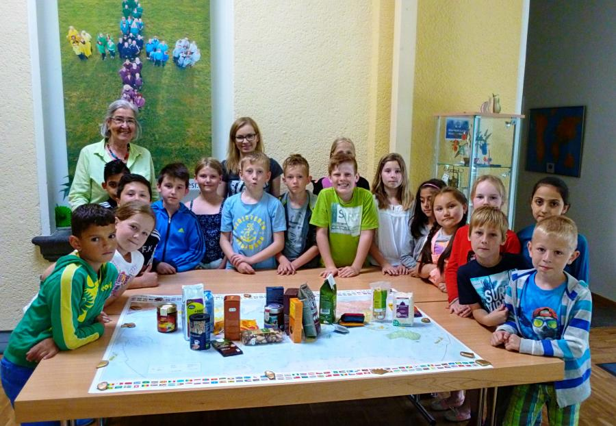 Besuch der Grundschule