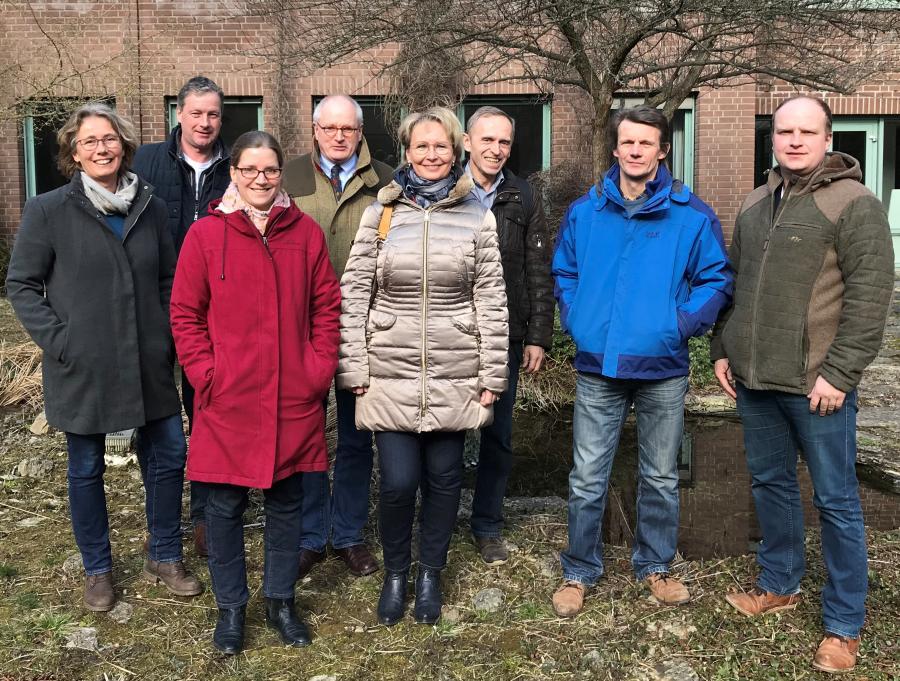 Akteure aus dem Heidekreis und vom DVL-Landesbüro Niedersachsen zu Besuch in Göttingen