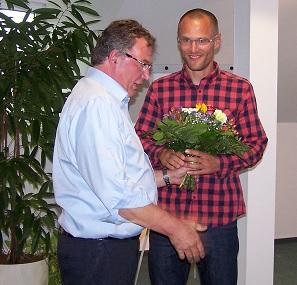 Frederik Bewer mit Detlef Krause