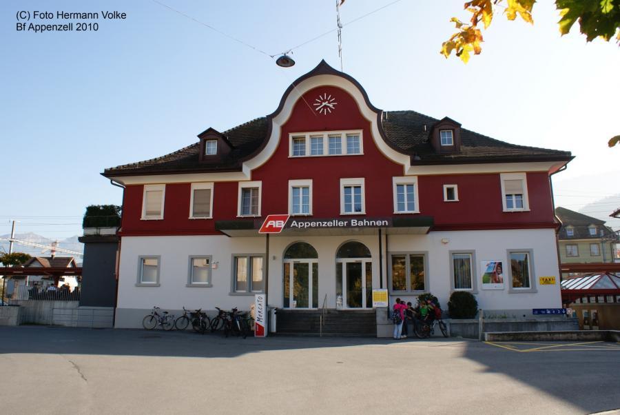 Bahnhof Appenzell 2010