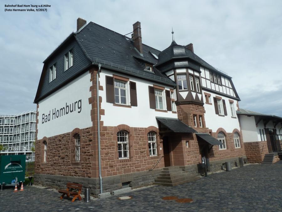 Bahnhof Bad Homburg v.d.Höhe