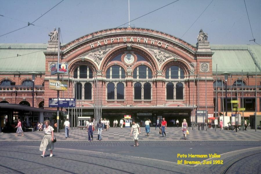 Bahnhof Bremen Hbf 1982