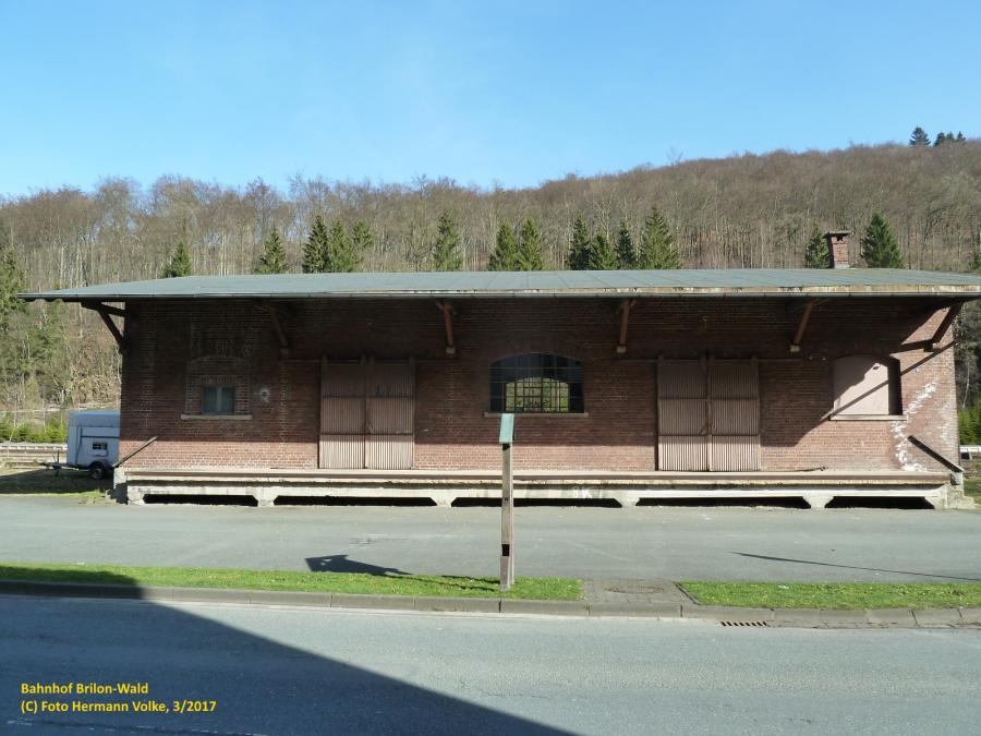 Bahnhof Brilon Wald - ehemaliger Güterschuppen