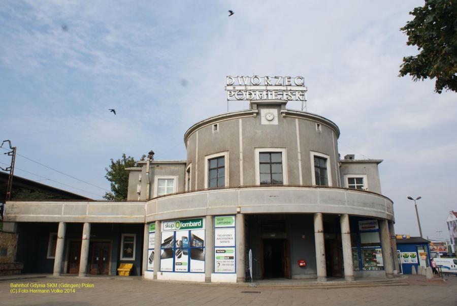 Bahnhof Gdingen-SKM/Polen