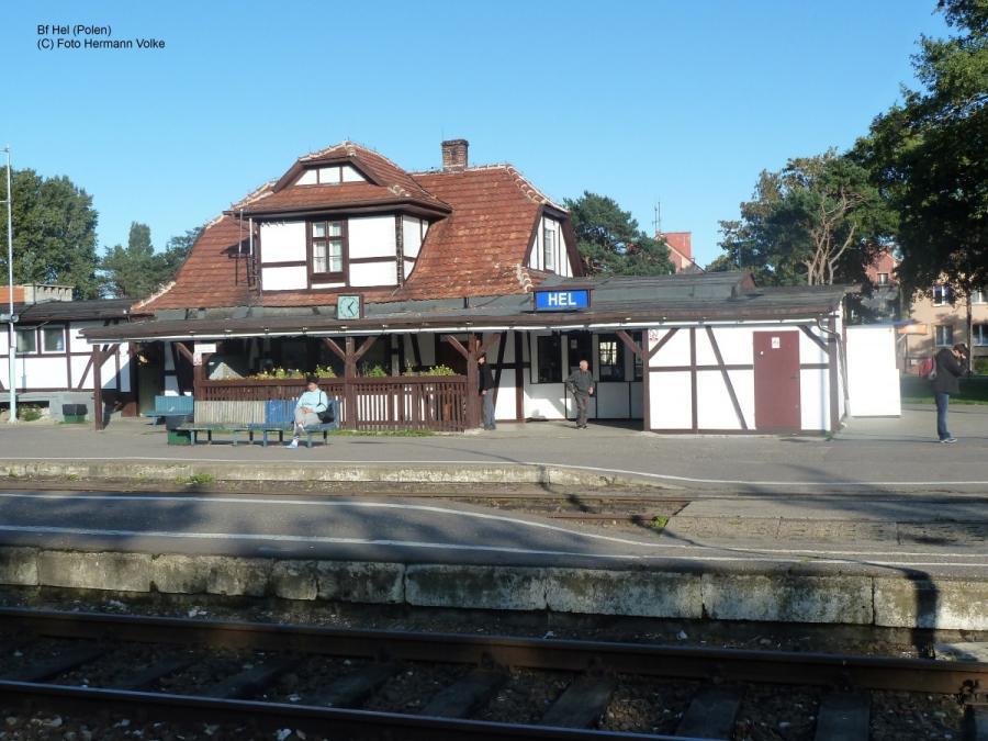 Bahnhof Hel/Polen
