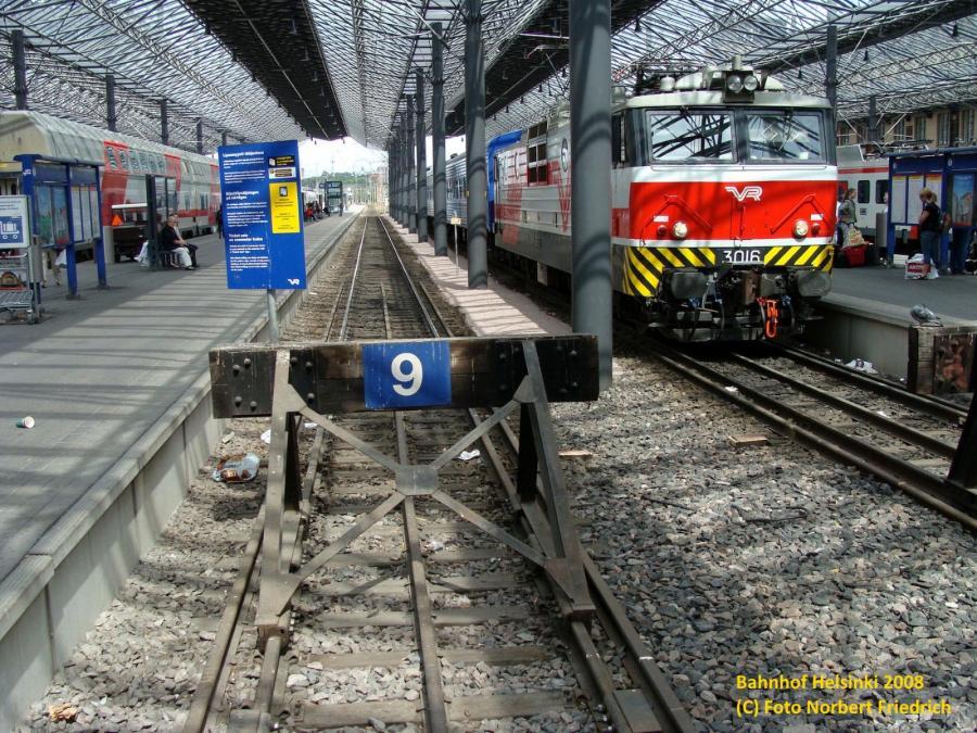 Bahnhof Helsinki 2008