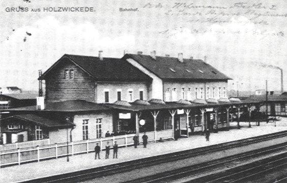 Bahnhof ca. 1912