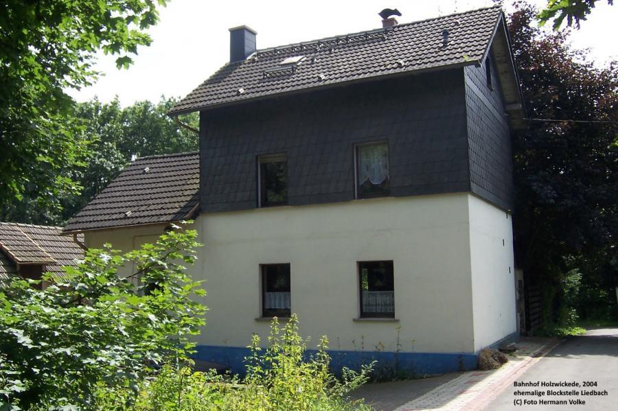 ehemalige Blockstelle Liedbach, Wohnhaaus