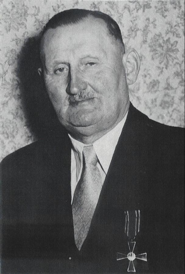 Bahnmeister Bundesbahnamtmann Friedrich Böckmann
